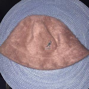 Purple Kangol furgora bucket hat